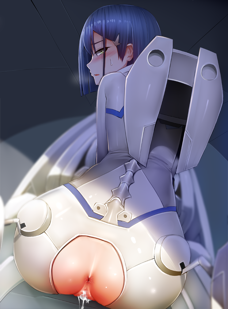 the franxx in naked darling Mighty jill off