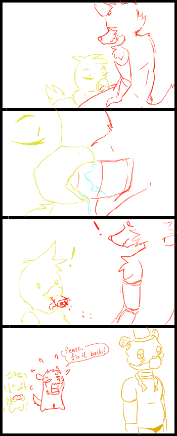 fnaf comic mangle foxy x What if adventure time was a 3d anime game nude