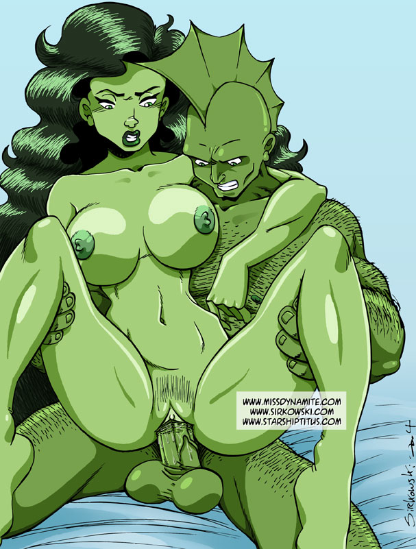 and she-hulk spiderman Huge breasts in tight clothes