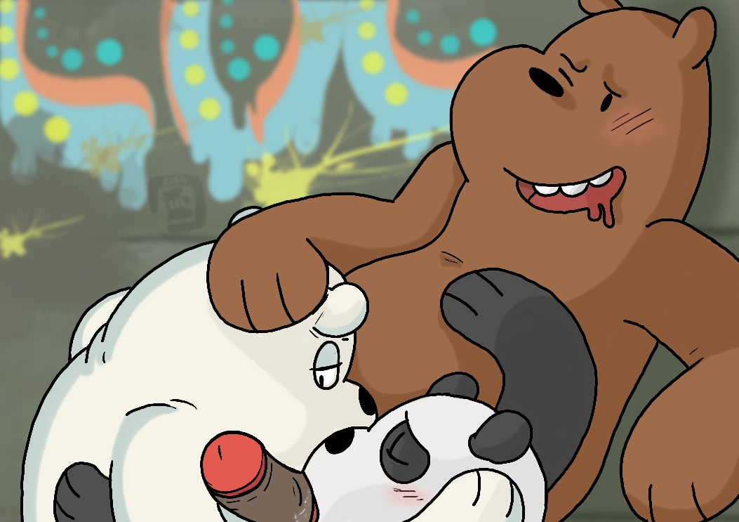 bears charlie bare we on The amazing world of gumball frankie