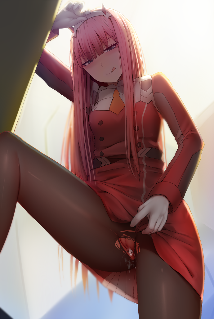 darling in butt franxx the Nyarko-san: another crawling chaos