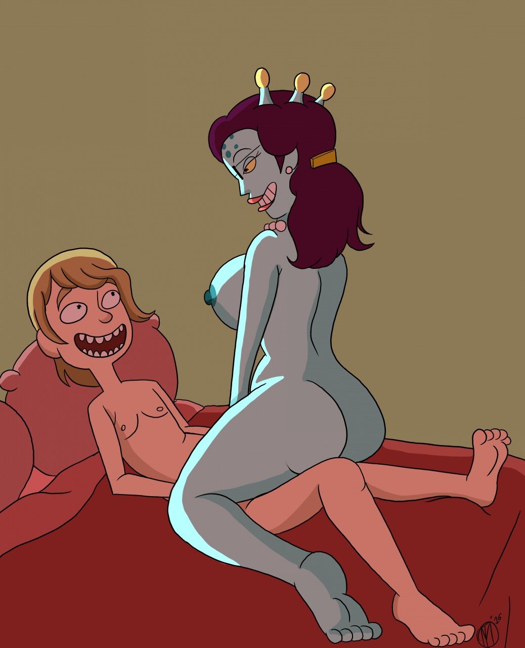 morty rick and porn stacy Earthworm jim princess what's her name