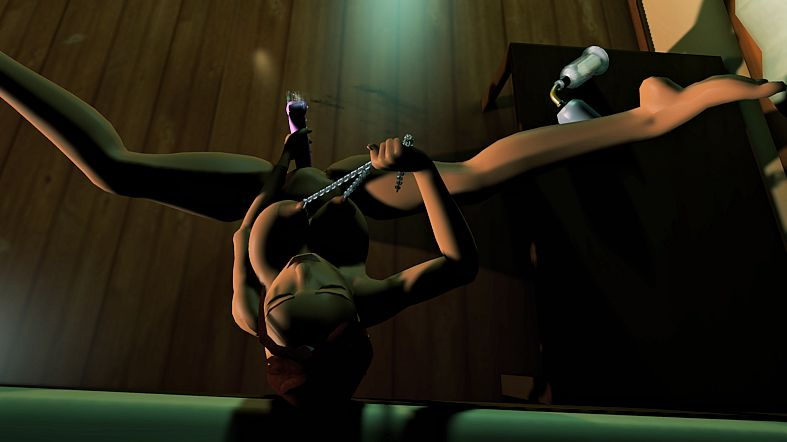 tomb raider lara horse with Sylvie trials in tainted space