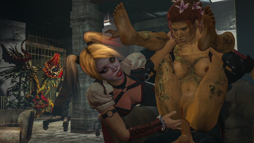 on batman ivy arkham poison assault The walking dead game carly