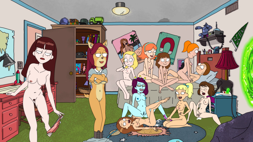 and smith summer rick nude morty Daily life with a monster girl suu