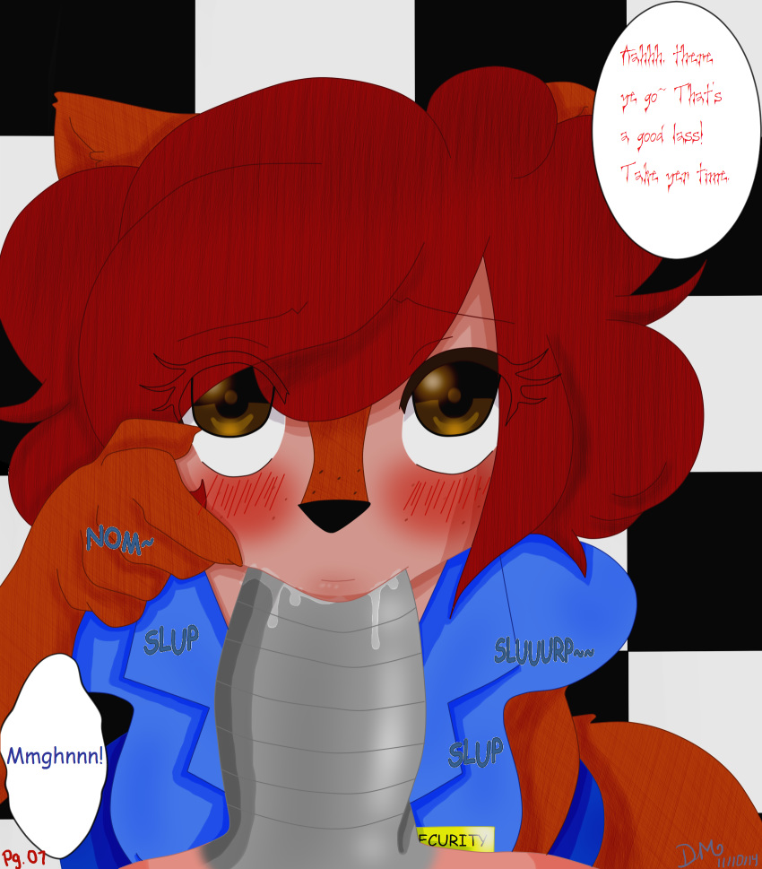 mangle foxy fnaf x comic How old is ashley from warioware
