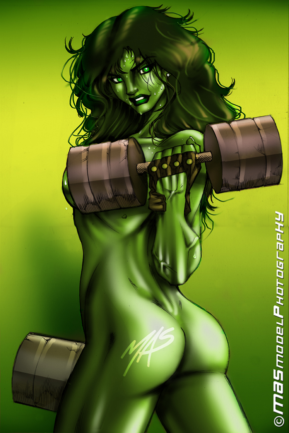 and she-hulk spiderman The shadow of light furry comic